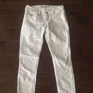 White Levi Jeans